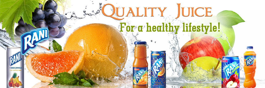 Quality Juice for Healthy lifestyle